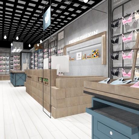上海童装童鞋展示柜价格表 围巾丝巾展示柜货架厂家定制