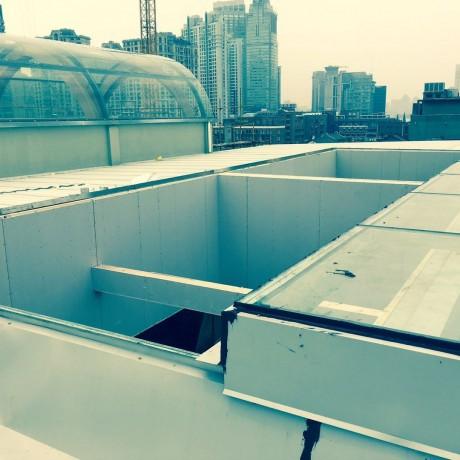 屋顶平移天窗兮鸿智能移动天窗遥控平移天窗