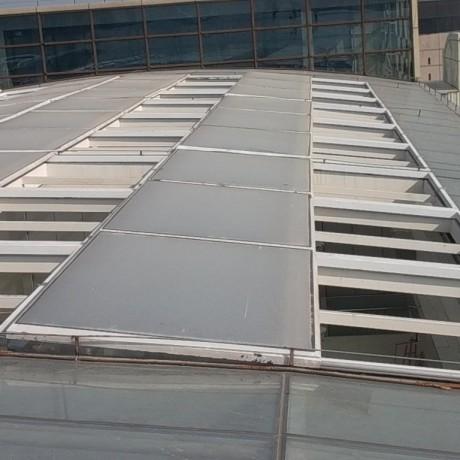 屋顶电动天窗智能平移折叠开启兮鸿感应屋顶自动天窗