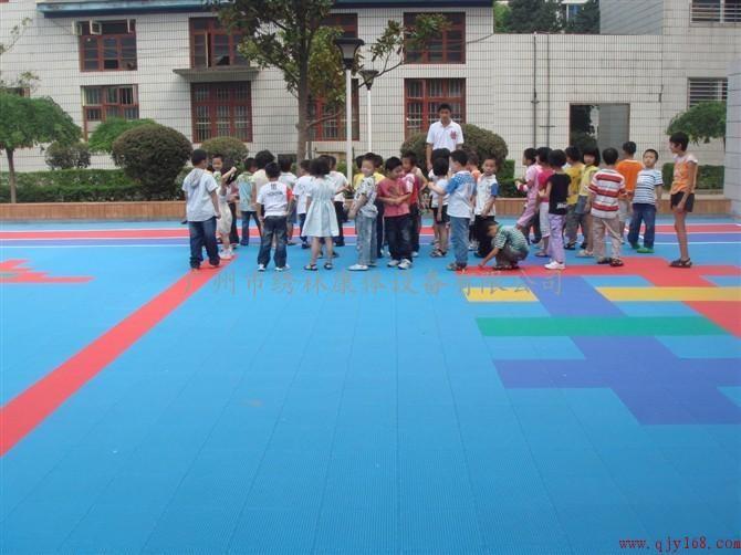艾格-悬浮拼装地板 篮球场地板 网球场地板