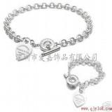 925纯银手链加工生产定制铜镀金首饰手环来图来样设计批发饰品代工厂家