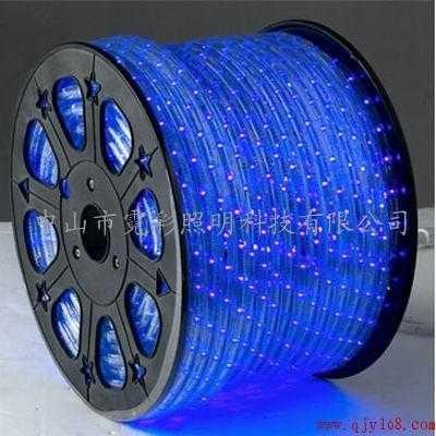 供应LED圆二线彩虹管