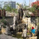 西安全新假山|西安喷泉制作|假山流水