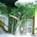 西安仿真植物|榕树等仿真竹子制作