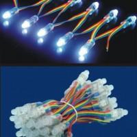 LED七彩外露灯串 RGB广告灯串