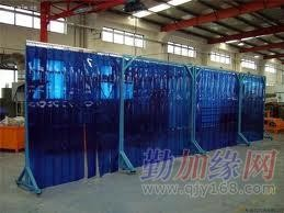 上海电焊防护帘、电焊防护隔断、焊接防护屏