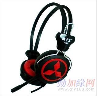 耳机 深圳 电脑/广东网中王V166网吧耳机供应商