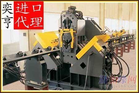 上海市日本二手涂装生产线设备进口报关代理公司涂装设备进口报关流程