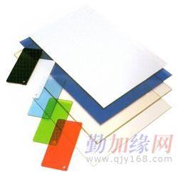 供应象牙白黑色黄色橙色防静电PVC板
