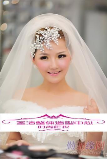 长沙跟妆长沙新娘造型长沙婚纱租赁供应商 圣洁整体造型中心
