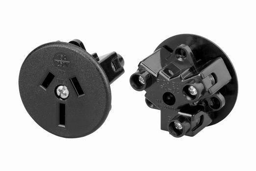 澳大利亚圆面板插座变逆器配用插座