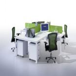 屏风位办公桌