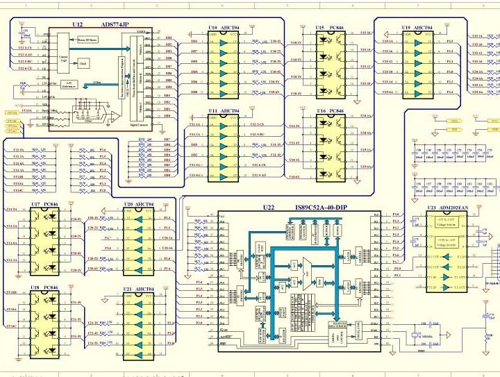 投光灯电源APP控制板方案开发PCBA定制公司