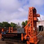 地铁专用履带式工程钻机