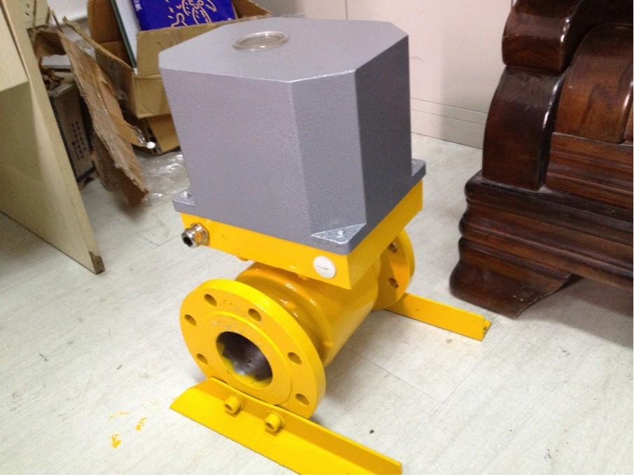 DQF电动球阀DN200,水泥均化库,2秒快开