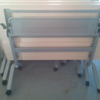 移动办公培训折叠桌椅