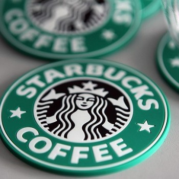 星巴克/星巴克美式拿铁硅胶咖啡杯垫