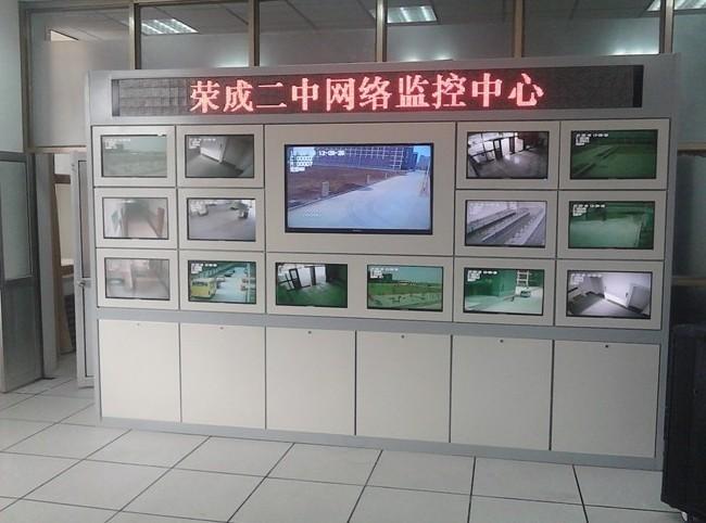 辰铭电子机箱供应电脑监控墙安装