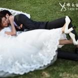 杭州户外婚纱照的道具运用