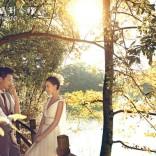 杭州雨景婚纱照特色