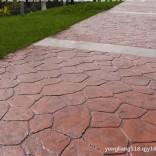 厂家批发生态环保压模地坪材料