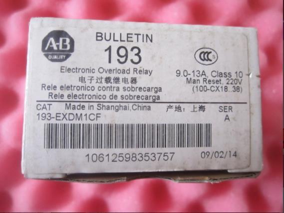 193-ESDM,1CT,电子过载继电器,220V,193系