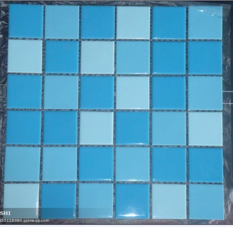 供应海南厂家促销陶瓷马赛克,游泳池专业铺贴