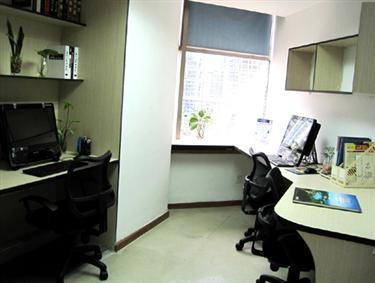罗湖办公室2人1280元精装特价先到先得送秘书服务