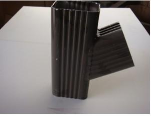 别墅 落水/别墅屋面落水系统厂家直销彩铝落水系统方形雨水管