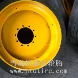 正品钢厂铁水运输车专用实心轮胎1400-24耐高温抗撕裂轮胎