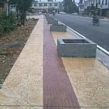 蚌埠彩色艺术地坪模具免费用
