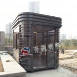 供应灰玻钢结构保安岗亭,高档美观