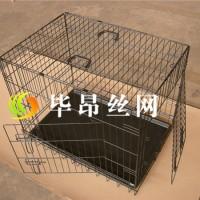 铁丝狗笼子可折叠生产厂家首选毕昂