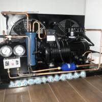高效5匹谷轮半封闭压缩机组 冷库外机 谷轮半封敞开式风冷机组