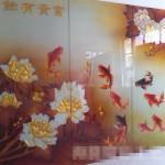 瓷砖背景墙上色机厂家十年技术保证