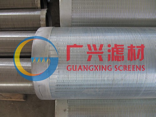 V型丝不锈钢滤水管,全焊式不锈钢绕丝筛管