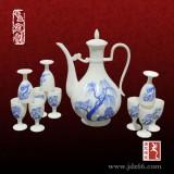 陶瓷酒壶出酒器厂 酒壶自动酒具定做 自动酒具套装厂家