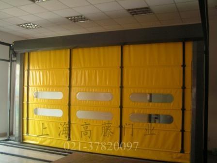 pvc软门工业门卷帘门
