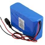 太阳能一体化路灯26650锂电池30AH 12v大容量太阳能