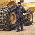 ZL50铲车防滑链 石场专用50铲车防滑链 直销