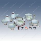 节日礼品陶瓷茶具套装批发