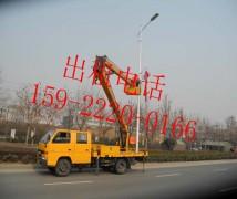 天津空港路灯杆除锈刷漆车出租