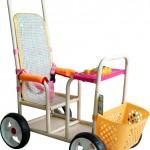 2015年长青童车厂新款儿童推车,大龄宝宝上下方便