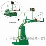 厂家直销户外标准成人 篮球架 手动液压篮球架 配国标钢化铝边