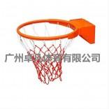 户外标准篮球框 双弹簧实心篮筐篮圈 室外成人壁挂式篮球架扣篮