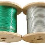 涂塑 包胶 包塑 不锈钢丝绳