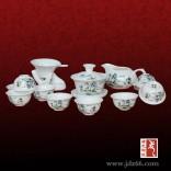 陶瓷茶具批发 赠送礼品陶瓷茶具定做
