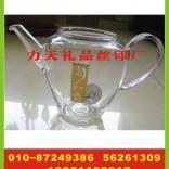 公司玻璃茶壶印字 电饭煲丝印字 咖啡机丝印厂
