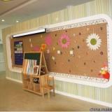 厂家订做优质铝合金边框软木板_学校插图钉墙板_告示板展示板厂