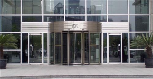 临朐嘉亿建材图、仿铜旋转门、上海旋转门